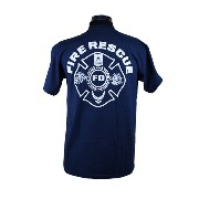 Protecting Those Who Serve Our Country 消防Tシャツ SH