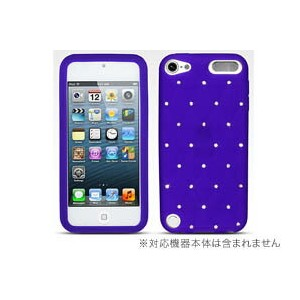 iPod touch 第5世代 キラキラシリコンケース for iPod touch(5th gen.) 【ポストイン指定商品】