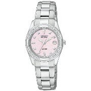 Citizen シチズン レディース腕時計 Women's EW1820-58X Susan G. Komen 20-Diamonds Watch