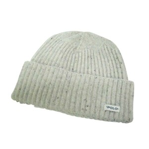 POLO RALPH LAUREN KNIT CAP (Merino Donegal Watch Cap/6F0296/236: Oatmeal Donegal)ポロ ラルフローレン/ニットキャップ