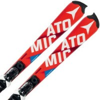 ATOMIC〔アトミック ジュニアスキー板〕<2016>REDSTER FIS SL JR + X12 【金具付き・取付料送料無料】〔z〕