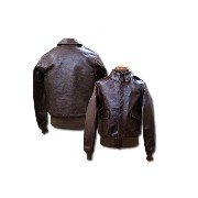 """BUZZ RICKSON'S バズリクソンズ A-2 No23380 """" ROUGH WEAR CLOTHING CO. """""""" Hand aniline dyed """" BR80253"""