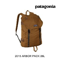 2015 PATAGONIA パタゴニア バックパック ARBOR PACK 26L BRBN BEAR BROWN