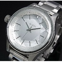NIXON【ニクソン】FACET 38 ALL SILVER / ファセット 38 シルバー文字盤 メタルベルト レディース腕時計【2015年新作】【送料無料】A409-1920(国内正規品)