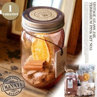 VINTAGE GLASS JAR TERRARIUM KIT PINK (ヴィンテージグラスジャーテラリウムキット ピンク) ugm0105 URBAN GREEN MAKERS...