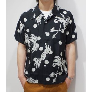 SUN SURF サンサーフ Special Edition DUKE KAHANAMOKU '15MODEL『MOON LIGHT PALM TREE』【洋柄・アロハ】DK36980(Aloha)