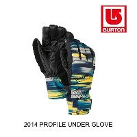 2014 BURTON バートン グローブ PROFILE UNDER GLOVE LUCYS DIAMONDS PRINT