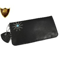 HTC 財布 TYPE1 LONG WALLET #STAR BURST2 TQ BLACK