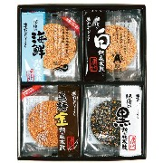 【熊本銘菓】特選胡麻づくしお菓子 ギフト せんべい 詰合せ 胡麻せんべい あられ ピーナッツ 醤油煎餅