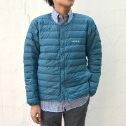 mont-bell(モンベル)/ Superior Down Round Neck Jacket Men's -DKMA(ダークマラード)- 【Z】