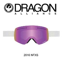 2016 DRAGON ドラゴン ゴーグル GOGGLE NFXS WHITEOUT/PINK ION+IONIZED