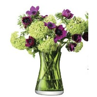LSA FLOWER COLOUR TABLE POSY VASE H200mm ライム【花瓶】<箱入り>