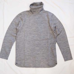 GYPSY&SONS ジプシーアンドサンズWOOL PNCH TURTLE NECK T-GRAY-