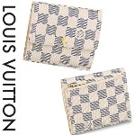 2015AW【VUITTON】★PORTEFEUILLE ANAIS★アズール★折りたたみ Louis Vuitton(ルイヴィトン)