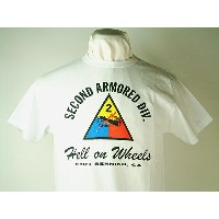 "Buzz Rickson's (バズリクソンズ)S/S T-SHIRTS""SECOND ARMORED DIV.""HELL ON WHEELS"