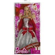 "Barbie バービー Holiday Sparkle ~11.75"" Doll Figure 人形 ドール"
