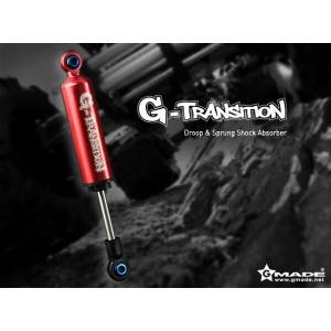 Gmade G-Transition Shock Red 80mm (4) for 1/10 Crawler & Truck GM20501 ラジコンパーツ ラジコンカー スペア オプション...