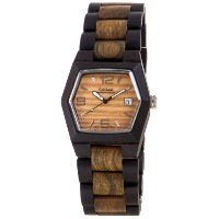 テンス 時計 メンズ 腕時計 木製 Tense Wood Watch Mens Dark Sandalwood/Green Two Tone G8300DG LF (Light Face)