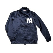 【期間限定30%OFF!】EBBETS FIELD(エベッツフィールド)/別注 60's VINTAGE SATIN COACH JACKET/NY x EBBETS FIELD/navy