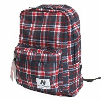 NEW BALANCE ニューバランス Classic Backpack クラシックバックパック リュック デイパッック NB-1230 RED/BLUE PLAIDレッド...