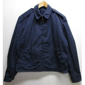 【中古】米軍 U.S.A.F JACKET, MAN'S, COTTON, POLY, POPLIN, 5.5 OZ., BLUE AF SHADE 1157 ポプリンジャケット スイングトップ 紺...