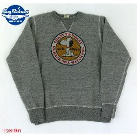 "No.BR67133 BUZZ RICKSON'S × PEANUTSバズリクソンズ×ピーナッツSET-IN CREW SWEAT""NUMBER ONE WATCH DOG"""