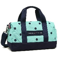 トミーヒルフィガー バッグ TOMMY HILFIGER 6930059 266 CORE PLUS MINI DUFFLE BICOLOR DOT ショルダーバッグ POSY/NAVY