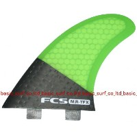 FCS FIN MR-TFX TRI MR TFX CARBON/GREEN FCS エフシーエス サーフィン フィン 送料無料
