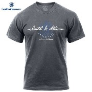 """Smith & Wesson スミス&ウェッソン """"American Made"""" Tシャツ 3711《WIP》 男性 春 ギフト プレゼント"""