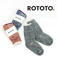 【BASIC】RoToTo ロトト DOUBLE FACE SOCKS[R1001]