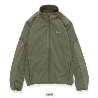 AK457 2016W MID FLEECE JACKET / MID FLEECE PANT / OLIVE 2点セット