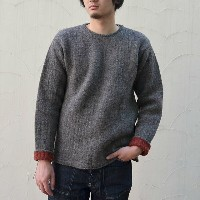 TENDER Co.(テンダー) PULL OVER KNIT -BROWN-