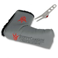 Scotty Cameron Pro Platinum Headcover with Pivot Tools【ゴルフ Scotty Cameron>ヘッドカバー】