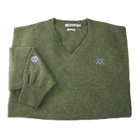 Scotty Cameron 2012 V-Neck Cashmere Oregano Sweaters【ゴルフ ゴルフウェア>ジャケット】