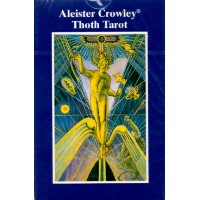 AGM社ブルーボックス・トート・タロット【ポケット】Aleister-crowley-pocket