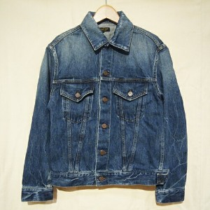 A VONTADEアボンタージ60's Denim Jacket (3rd Type)デニムジャケット-Indigo Vintage Washed-