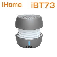 【海外 直送】bluetoothスピーカー/iHome iBT73 Color Changing Bluetooth Rechargeable Mini Speaker System アイホーム...