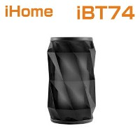 【海外 直送】bluetoothスピーカー iHome iBT74 Color Changing Bluetooth Rechargeable Speaker System with...