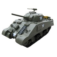 VANTEX 1/6 シャーマンM4 (1/6 M4 Sherman RC Tank(Electric Powered)
