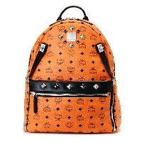MCM エムシーエム バッグ リュック MMK5SVE79 ORANGE DUAL STARK BACKPACK MEDIUM