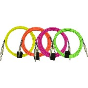 DiMarzio Guitar Cables EP1710SS (3.1m) (Neon Yellow)