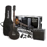 Epiphone エピフォン エレキギター Ebony Performance Pack Les Paul Special II