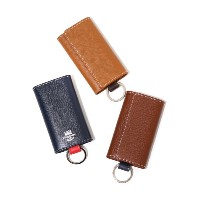 Whitehouse Cox (ホワイトハウスコックス) / KEYCASE(London Calf×Bridle Leather Collection) (キー ケース ギフトラッピング可能)S...