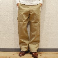バズリクソンズ チノパン BUZZ RICKSON'S EARLY MILITARY CHINOS 1945 MODEL BEIGE(01)