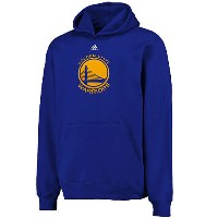 NBA プライマリーロゴ フーディー ウォリアーズ(ジュニア ブルー) Adidas + OUTER STUFF Golden State Warriors Youth Royal Primary...