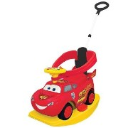 Disney Pixar Cars 2 - 4-in-1 Ride On - Lightning McQueen Kiddieland カーズ