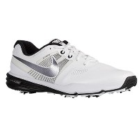 (取寄)NIKE ナイキ メンズ ルナ コマンド ゴルフシューズ Nike Men's Lunar Command Golf Shoe White Black Metallic Cool Grey ...
