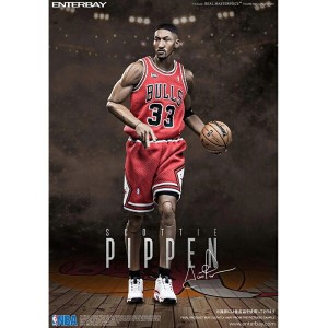 ENTERBAY 1/6 Scale REAL MASTERPIECE NBA COLLECTION SCOTTIE PIPPEN (エンターベイ 1/6スケール リアルマスターピース...