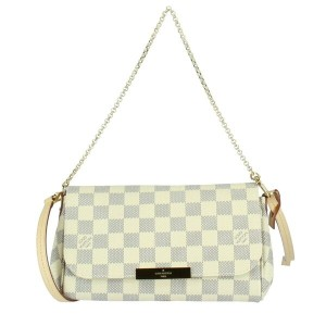 LOUIS VUITTON ルイヴィトン バッグ N41277 ダミエ・アズール フェイボリットPM
