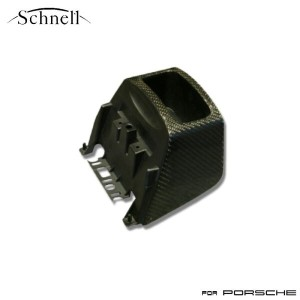 【schnell】ポルシェ 997 カーボン センターコンソールエクステンション リアルカーボンシリーズ ※ Porsche 997 Carbon Center Console Extension...